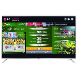 "Smart TV LG LED 39"" 39LB5800 Full HD 3 HDMI 3 USB 120Hz Wi-Fi Integrado"