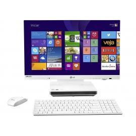 "Computador All in One LG com Intel Core i5 4GB 500GB LED 23\"" Windows 8.1"